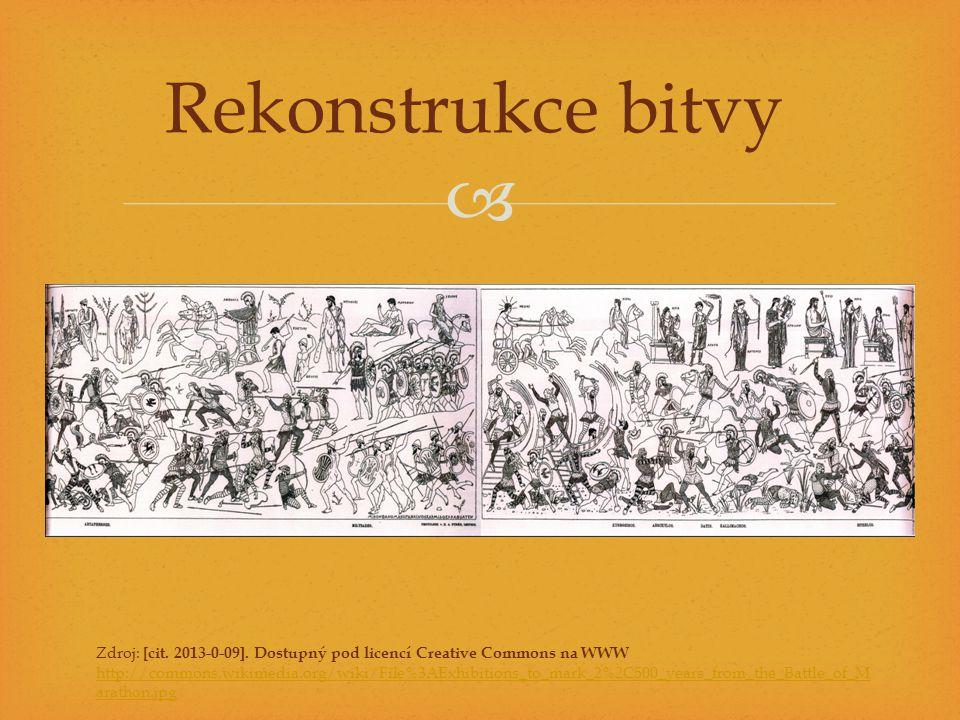 Rekonstrukce bitvy Zdroj: [cit. 2013-0-09]. Dostupný pod licencí Creative Commons na WWW.